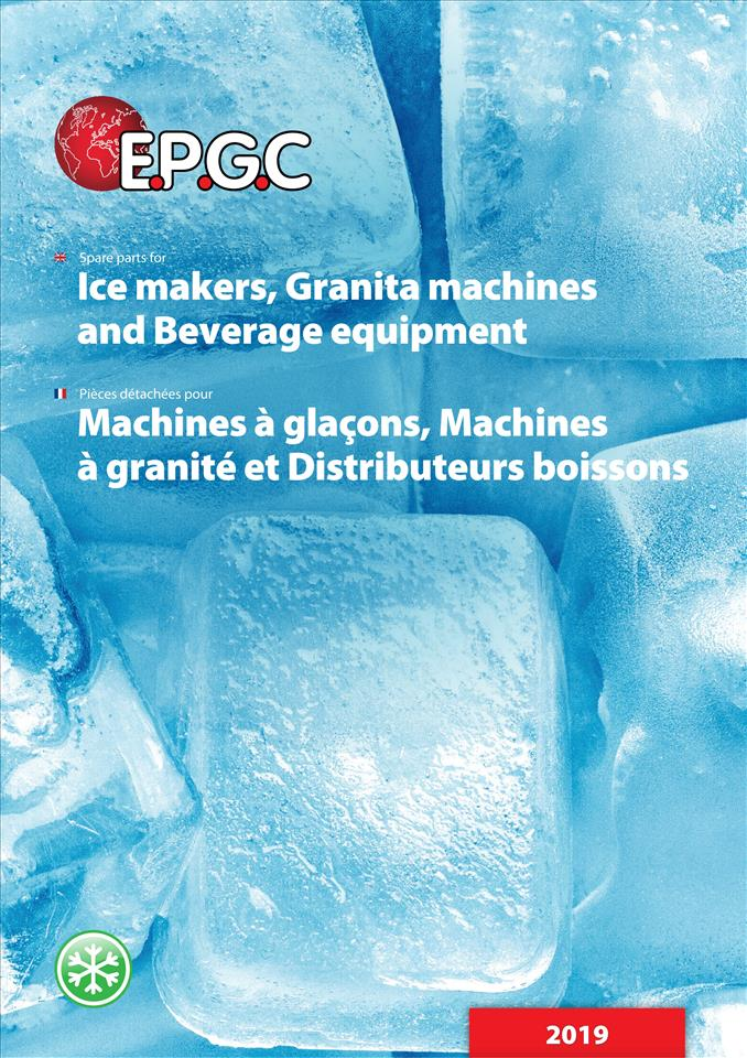 Ice makers, Granita machines, Beverage eq. 04/2019