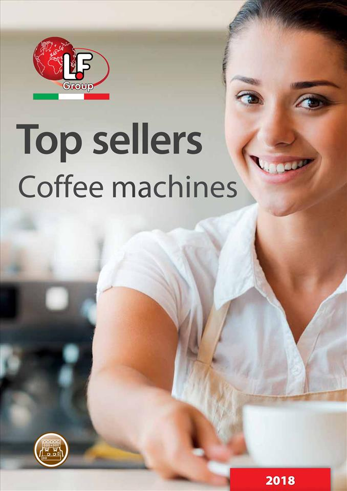 Top sellers - Coffee machines 01/2018