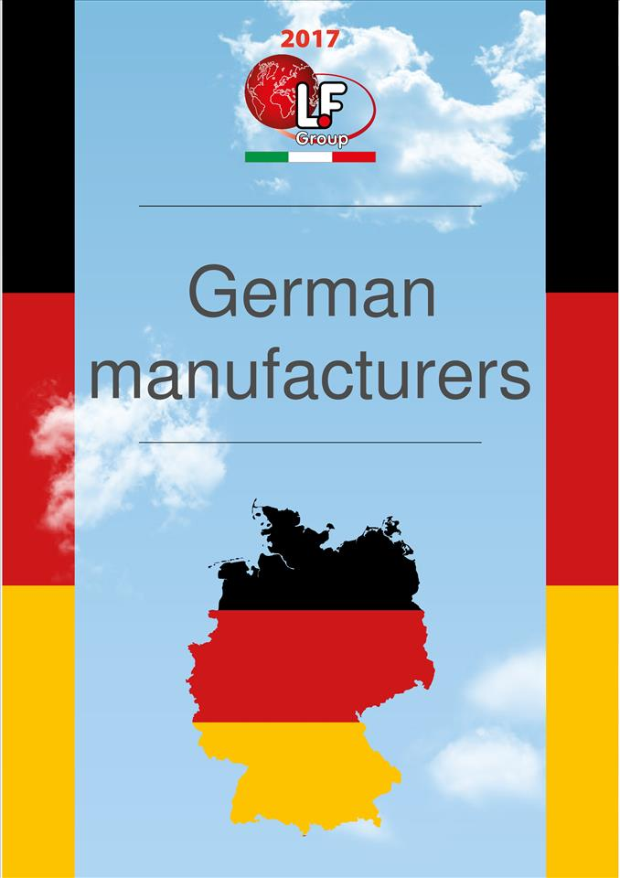 German manufacturers 01/2017